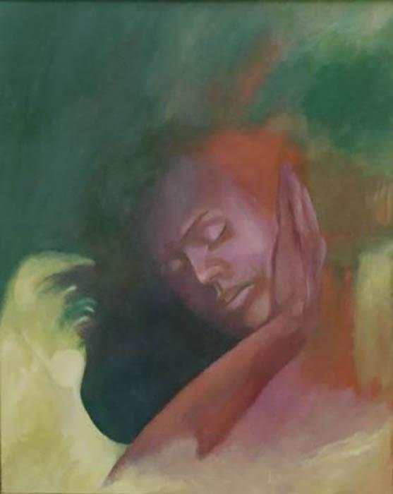 108-Soleil de Camille  huile  81x63